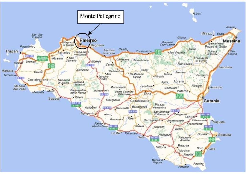 Cartina Sicilia Mondello.Visita Monreale E Mondello Escursione Monte Pellegrino