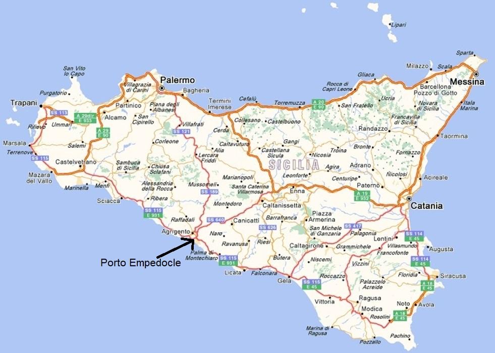 Aeroporti In Sicilia Cartina.Scopri I Posti Piu Selvaggi Della Sicilia